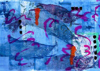 Gyotaku Paintings