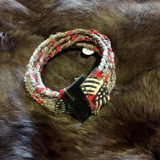Gray-braided