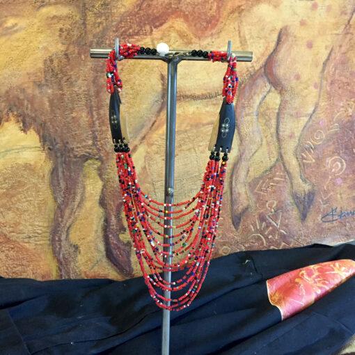 Red-Multi-Hanging
