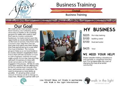 Business Training Ouaga