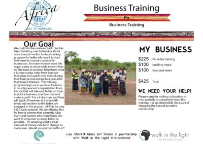 Business Training Poe