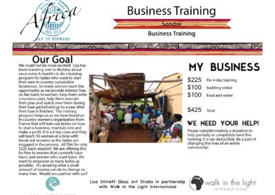 Business Training Sondre