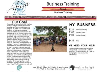Business Training Vatoe