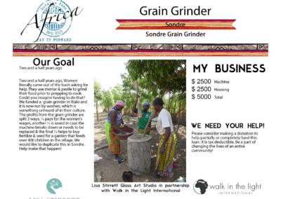 Grain Grinder Sondre