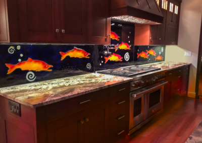 Salmon BackSplash